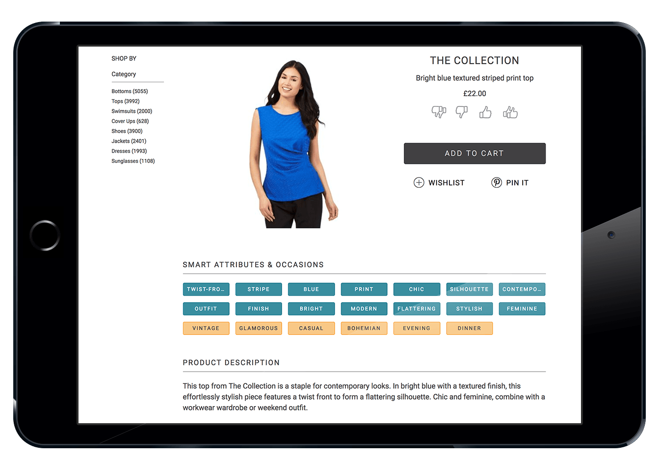 Customer Product Attribution Developed by Using Ecommerce AI