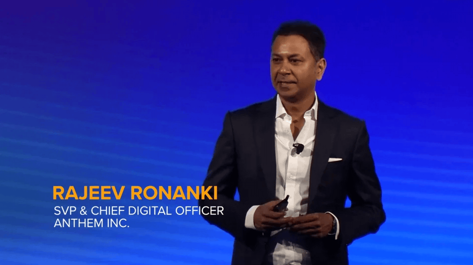 Customer Testimonial from Rajeev Ronanki, SVP & Chief Digital Officer Anthem, Inc.